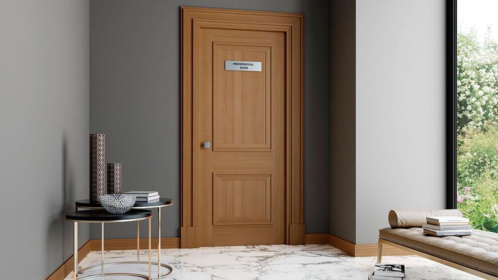 porta-tagliafuoco-1000-w_0014_Cena 20_Porta 19_ROVERE SCURO_Maniglia CROMO SATINATO OPACO